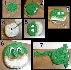 Frog Hackey Sack
