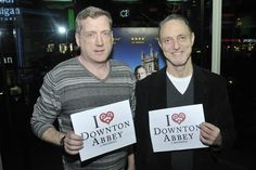 These two are embarrassed for Mosley, but still love him! #iheartdowntonabbey http://www.thirteen.org/program-content/masterpiece-downton-abbey/