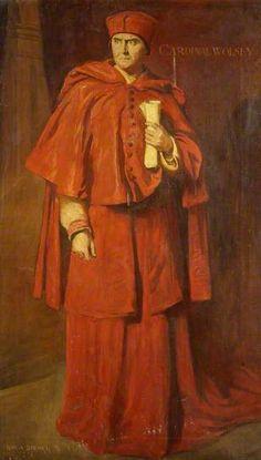 Herbert Beerbohm Tree as Cardinal Wolsey in 'Henry Vlll'