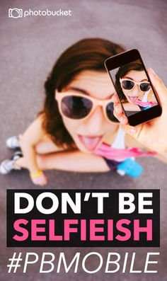 Share your best non-selfieish photo with the hashtag #pbmobile to enter our Photo Contest.