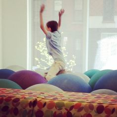 """Ball Pond"" at Children's Museum of the Arts, Tribeca"