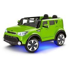 The Kia Sing-A-Long Soul Ride-On is a powered ride-on with build-in speakers and microphones for karaoke on the go.