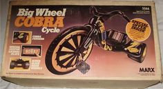 Big Wheel Cobra Cycle.  I had this!!