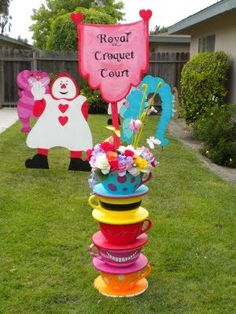 Alice In Wonderland Tea Party Ideas | alice in wonderland party | Frosted Events Birthday Party Themes, Baby ...
