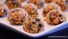 Quinoa No-Bake Trail Mix Balls