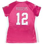 Green Bay Packers Women's #12 Aaron Rodgers Draft Me Jersey at the Packers Pro Shop