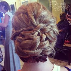 Braided updo. This is gorgeous!!!!