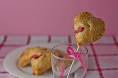 Strawberry Heart Pies
