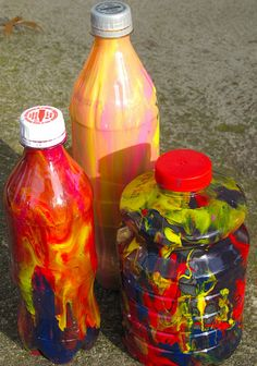 Painting In Bottles