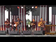 Dave Adkins & Republik Steel - Please Come to Boston live from the Musicians Against Childhood Cancer Festival in Ohio (MACC)