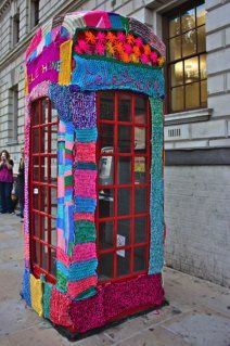 more yarn bombing