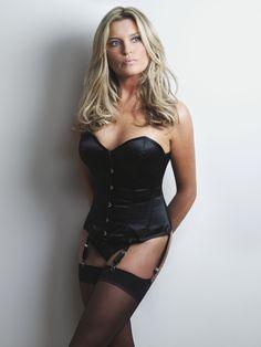 British model Tina Hobley