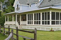 The porch. farmhouse porches | Modern Farmhouse Design (Revisited)