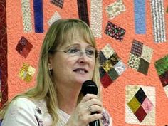 Bonnie Hunter     Why quilt?