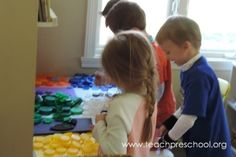 Learning with Lids by Teach Preschool
