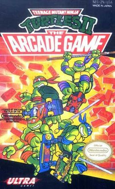 TMNT The Arcade Game