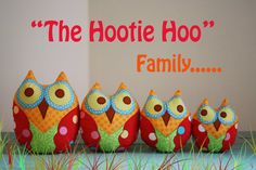 I love Hootie...Owl Crafts...Owls
