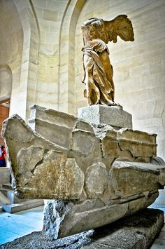 Winged Victory of Samothrace at Louvre