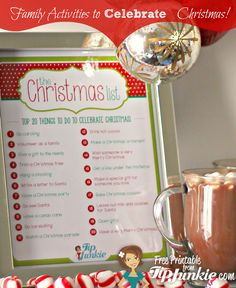 Tip Junkie - Top 20 Things to Do to Celebrate Christmas