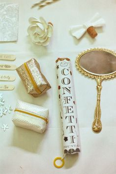 BHLDN decor / sparkly things.