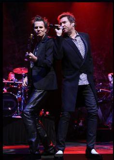 """Behind Le Bon, the band played beautifully."" http://duran.io/1tLRXai"