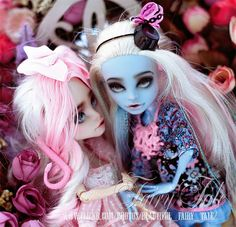 After.OOAK Abbey Bominable & Viperine Gorgon  by Fairy Tale