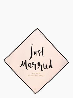 a unique gift for the bride-to-be? sorted. — the wedding belles just married silk square by kate spade new york (may 2014)