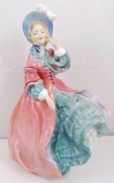 shopgoodwill.com: Royal Doulton Bone China Spring Morning Figurine