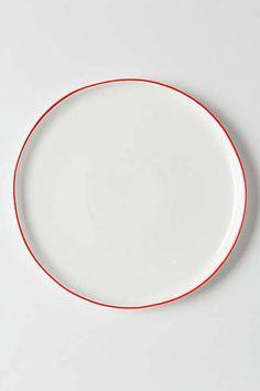 Anthropologie - Vermelho Dinner Plate