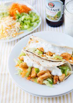 Baked Bree | Buffalo Chicken Tacos