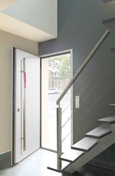 portes d 39 entr e aluminium zilten on pinterest. Black Bedroom Furniture Sets. Home Design Ideas