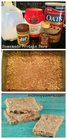 Homemade Protein Bars - | Online Coupons & Savings