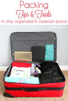 Amazing packing tips and tricks!  Stuff you'd never think to do! #travel