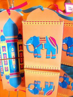 Printable Bollywood Bling Party Box