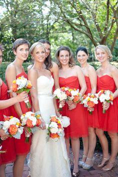 Garden wedding ~ Nate Henderson Photography