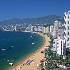 sandy beaches, favorit place, acapulco, memori, the bay