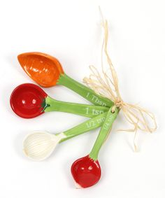 Vegetable Measuring Spoon Set @Pascale Lemay De Groof