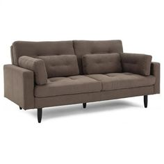 Hello new couch c: decor, sofa beds, encor convert, hardwood frame, live room, tuft cushion, sofaconstruct materi, dhi encor, convert sofa