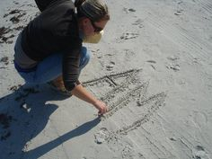 writing in the sand sand