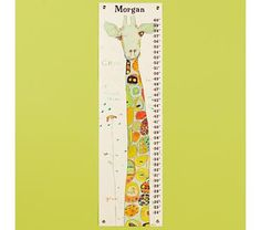 Giraffe Growth Chart  $59.00 each