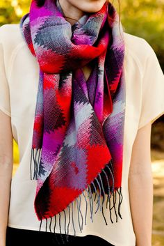 Tribal Scarf. PLEASE LET ME HAVE IT