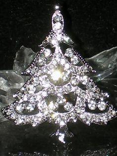 Rhinestone Crystal Brooch