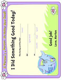 Dr. Seuss Activity Page