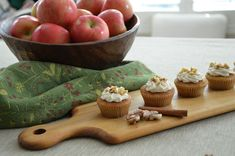 apple butter filled apple cider cupcakes for babycakes