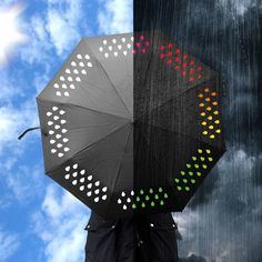 Add some color to the sadness outside... Colour Changing Umbrella by SuckUK 30€ from Charles & Marie