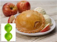 Petite Pie Mold (5.25x6.5x2.2-in.): Apple by Tovolo