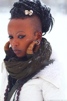 Locs... she is beaut