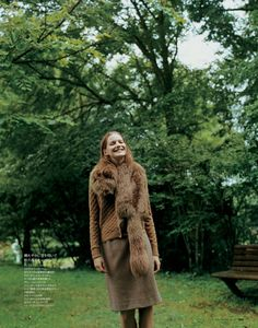 visual optimism; fashion editorials, shows, campaigns & more!: what a lovely day: julia suszfalak by go tanabe for elle japan october 2013