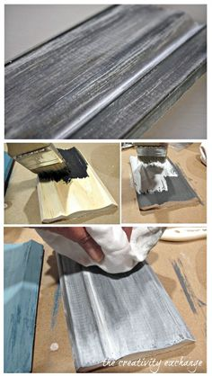 How to use milk paint to create beautiful finishes