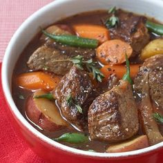 Healthy Beef stew.... I am a crock pot nerd, so this is perection!